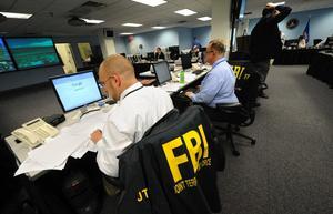 FBI i New York användes som bas för den koordinaerade jakten på attentatsmannen från Times Square.
