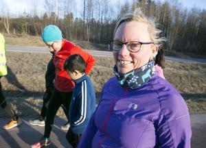 Jenny Wadsten siktar på Stockholm halvmaraton.