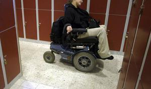 Gävle är bäst i landet på tillgänglighet för människor med funktionsnedsättningar. OBS! Bilden är tagen i ett annat sammanhang.