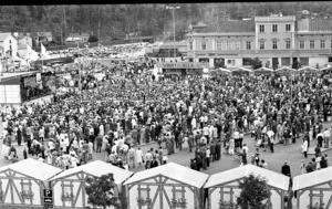 1972, ett av åren med runt 30 000 besökare.