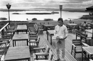 Ove Östberg sommaren 1991.
