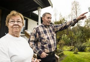 Paret Ulla-Britt Vestin och Bernt Eriksson har inte agerat trots obehag, utan månat om grannsämjan.