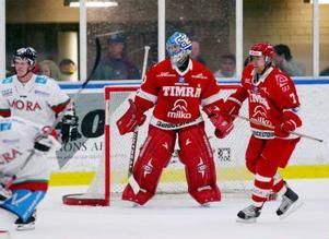 Mika Oksa övertygar alltmer i Timrås mål. Det ser ut som TIK hittat en ny, finsk matchvinnare i kassen.