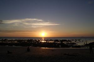 Just hemkommen efter 3 veckors semester i paradiset Thailand. Det var så vackert att följa denna solnedgång.