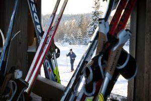 Sent omsider har skidsäsongen på Ljungåsen dragit i gång. På trettondagen rådde full aktivitet vid anläggningen.