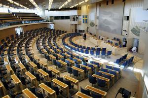 Ej för obehöriga. Att partiledare saknar riksdagsplats har varit ett problem för fler partier och deras ledare än Socialdemokraterna och Stefan Löfven.foto: scanpix