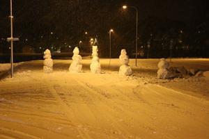 Snö glädje