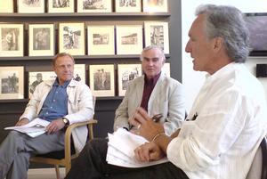 Jan Bendrik, Arne Ruth och Bengt Söderhäll presenterade vinnaren på onsdagen.