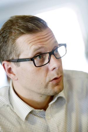 Fredrik Eklund är en av de som genomför studien.