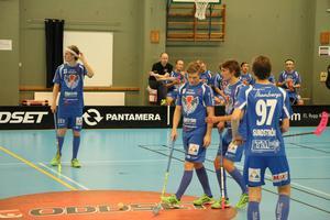 Nytt depp för GGIK. Det blev 3–9 mot Mullsjö, men det avgjordes först i slutet av matchen.