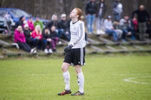 Linus Malmsten blev Tandsbyns ende målskytt mot Stöde.