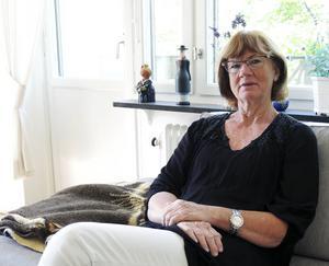 Riksdagsledamoten Ann-Britt Åsebol (M) från Falun.