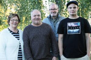 Marlene Johansson, Urban Guvelius, Karl-Gunnar Landar och Joakim Guvelius ingår i Alfta-Ovanåkers församlings miljögrupp.