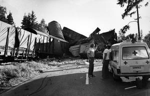 Tågkollissionen mellan Kolbäck och Munktorp. 5 augusti 1972.
