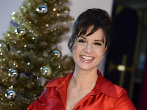 Petra Mede säger att hon ska försöka vara så personlig som möjligt i tv-rutan på julafton.