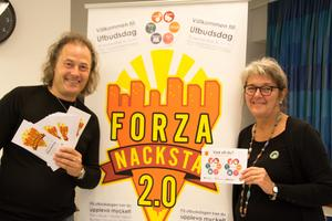Yamandú Pontvik och Christin Strömberg bjuder in Nackstaborna till utbudsdag - här kan man både uppleva kultur och önska mer inför framtiden.