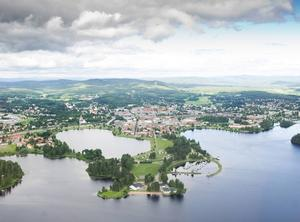 Långnäs udde. Det nya åtgärdspaketet beräknas kosta 6–7 miljoner kronor, byggnaderna i folkparken inte inräknade.