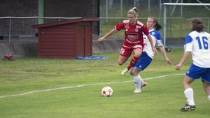 Cassandra Löfqvist och hennes Västanfors tog en poäng mot Västerås.