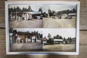 Bilder på kiosken som Joonas tog över för 30 år sedan.