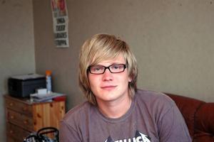 FINALIST. Stefan Eriksson, 20 år, Tierp, nådde inte hela vägen fram. Han blev inte