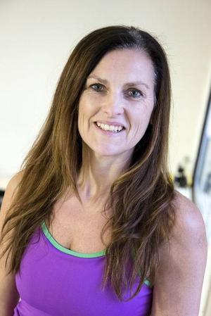 Katarina Owén, yogalärare.