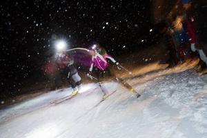 Emelie Forsberg, en av världens bästa bergslöpare skidade hem en andra plats.