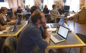 Fullsatt i Trosavik på utbildningen i att annonsera på Facebook.