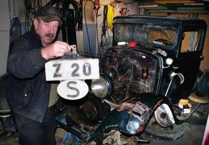 Just nu förefaller uppgiften att åter göra bil av gamla Z 20 något övermänsklig. Foto: Ingvar Ericsson