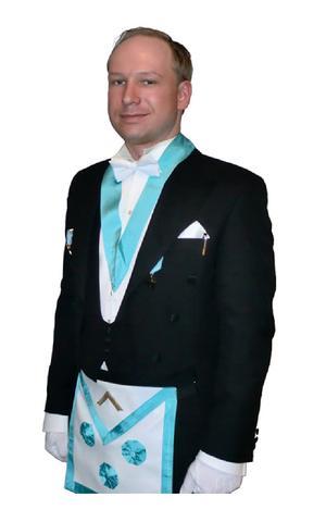 Anders Behring Breivik var medlem i de norska frimurarna. Orden har dock tagit avstånd från alla hans handlingar.
