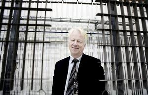 """Gerald Engström, Skinnskattebergsbo och vd för Systemair, förespråkar en sammanslagning till """"Bergslagens kommun""""."""
