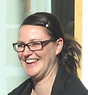 Ann-Catrin Andersson, bördig från Arboga.