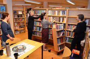 Nästa år fyller biblioteket i Fjugesta 15 år och inom kort kommer väggarna att målas om. Därför håller verksamheten stängt under fyra dagar.