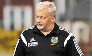 Fagersta Södras tränare Nicklas Blomqvist