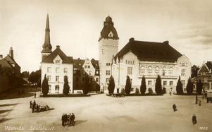 Stadsmiljö. Debattören anser att hänsyn bör tas till gammal kulturhistorisk stadsmiljö då staden förändras.foto: VLT:s arkiv