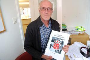 Yngve Eliasson har sammanställt Ängersjö IFs drygt 80 åriga historia.