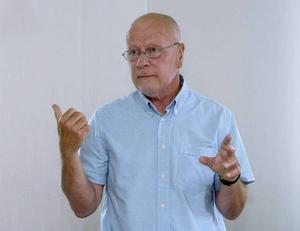 Sven-Erik Alhem, före detta överåklagare. Numera förbundsordförande i Brottsofferjourernas riksförbund.