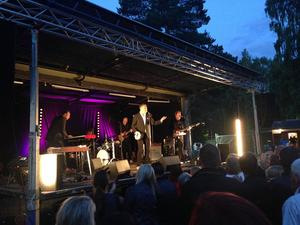Weeping Willows på Ön i Hedesunda, 7 juli 2015