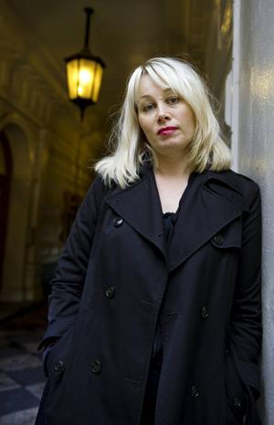 Anna Heberlein tog emot priset i Båstad på fredagen.