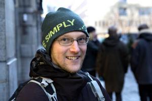 Tobias Lundqvist, Pilgrimstad– Jag är lärare och på skolan serverar vi aldrig söta drycker eller bullar till barnen, förutom vid speciella tillfällen.