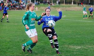 K/D:s Kajsa Holten och ÖDFF:s Isabelle Prestberg tillhörde matchens två främsta spelare.