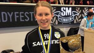 Lovisa Hedin vann SM-guld på söndagen.