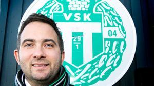 Michael Campese, klubbchef för VSK Bandy.