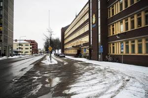 En fackklubb vid ett företag i Sundsvall har bestulits på ett mindre kassaskåp.