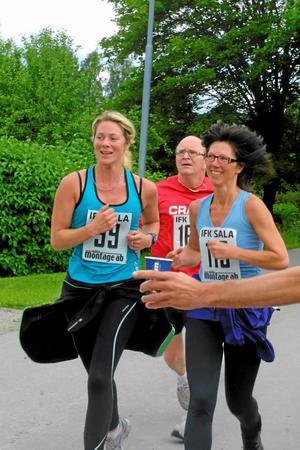 Therese Kallerman och Jenny Lindbom, Sala, trivdes.
