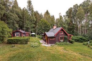 Detta fritidshus i Backan, Bjursås, Falu kommun, är på plats nio på Hemnets Klicktoppen för vecka 38, gällande objekt i Dalarna.