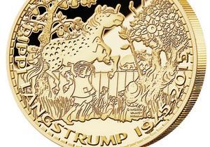 Medaljen mäter 88,7 millimeter i diameter och väger 400 gram. OBS: Bilden är något beskuren.
