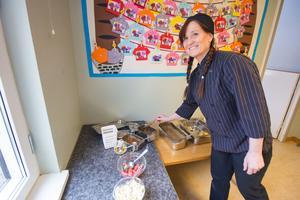 Anita Ljungqvist arbetar i ett av de mindre köken i Avesta kommun, men samtidigt har hon haft en stor andel specialkost. 2015 var det mer än 60 procent. Nu har det sjunkigt till en tredjedel ungefär.