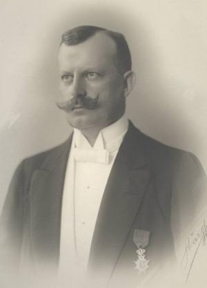 Direktör Herman Duse sa upp sig i protest när Asea i lönndom köpte Ludvikaverken 1916