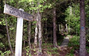 På Omneberget finns sedan läge en vandringsled vid naturreservatet. Nu kan byn få ännu fler utflyktsmål för naturintresserade.