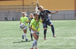 Agnes Dahlström blev också målskytt i Kvarnsvedens match mot Lidköping.
